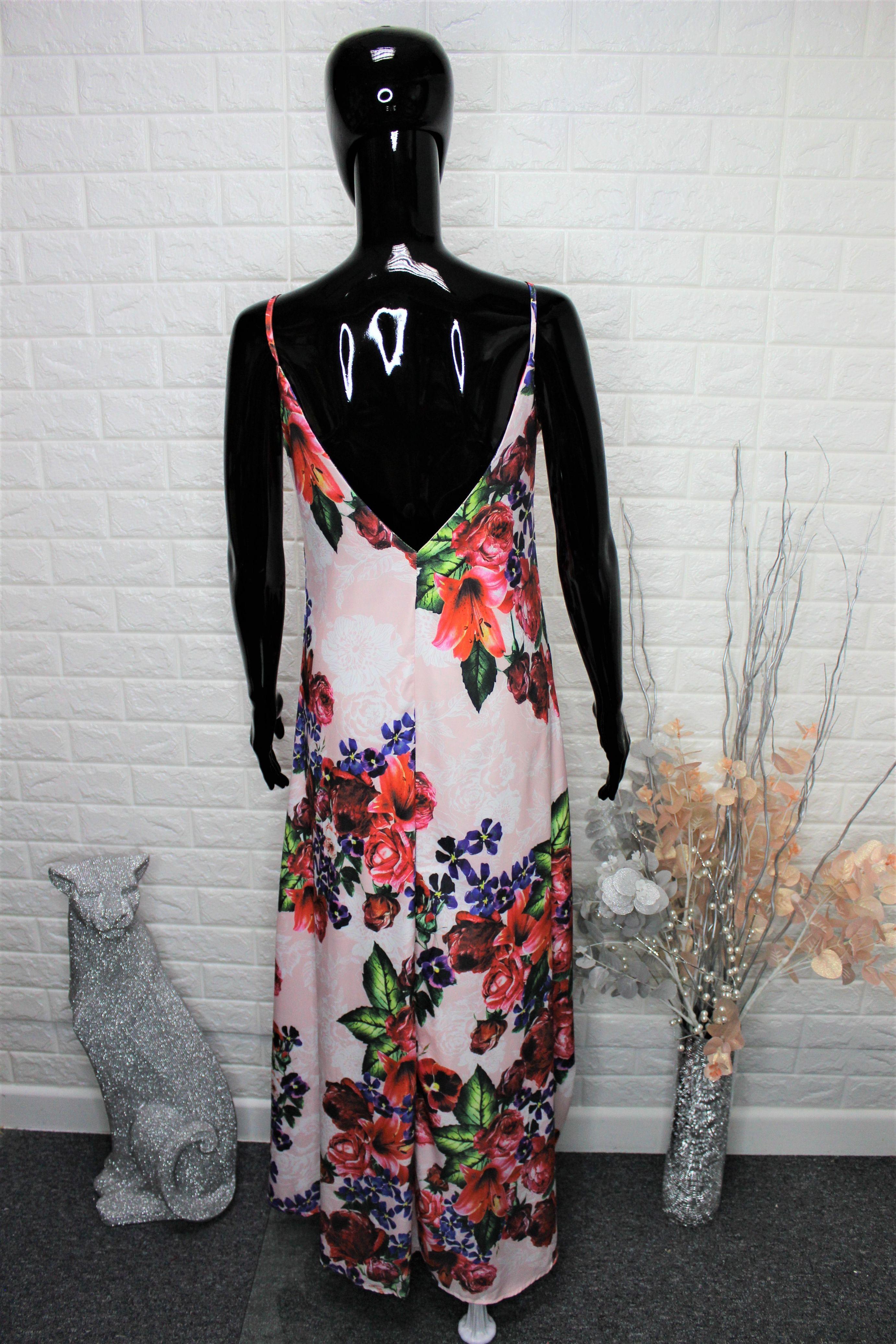 Satin Style Maxi Dress