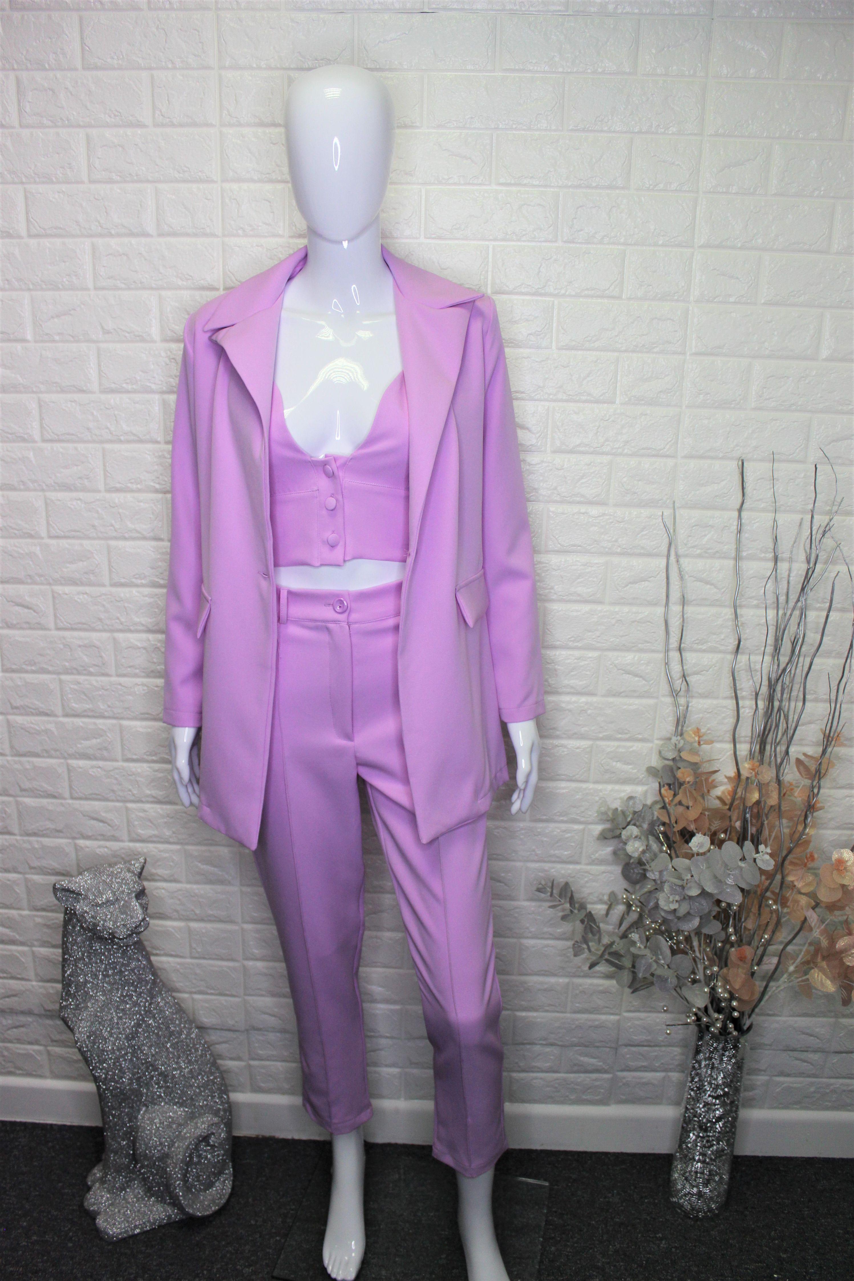 Lilac 3 Piece Suit