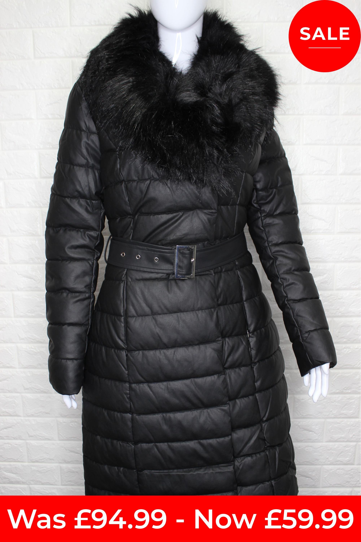 Black Long Winter Coat