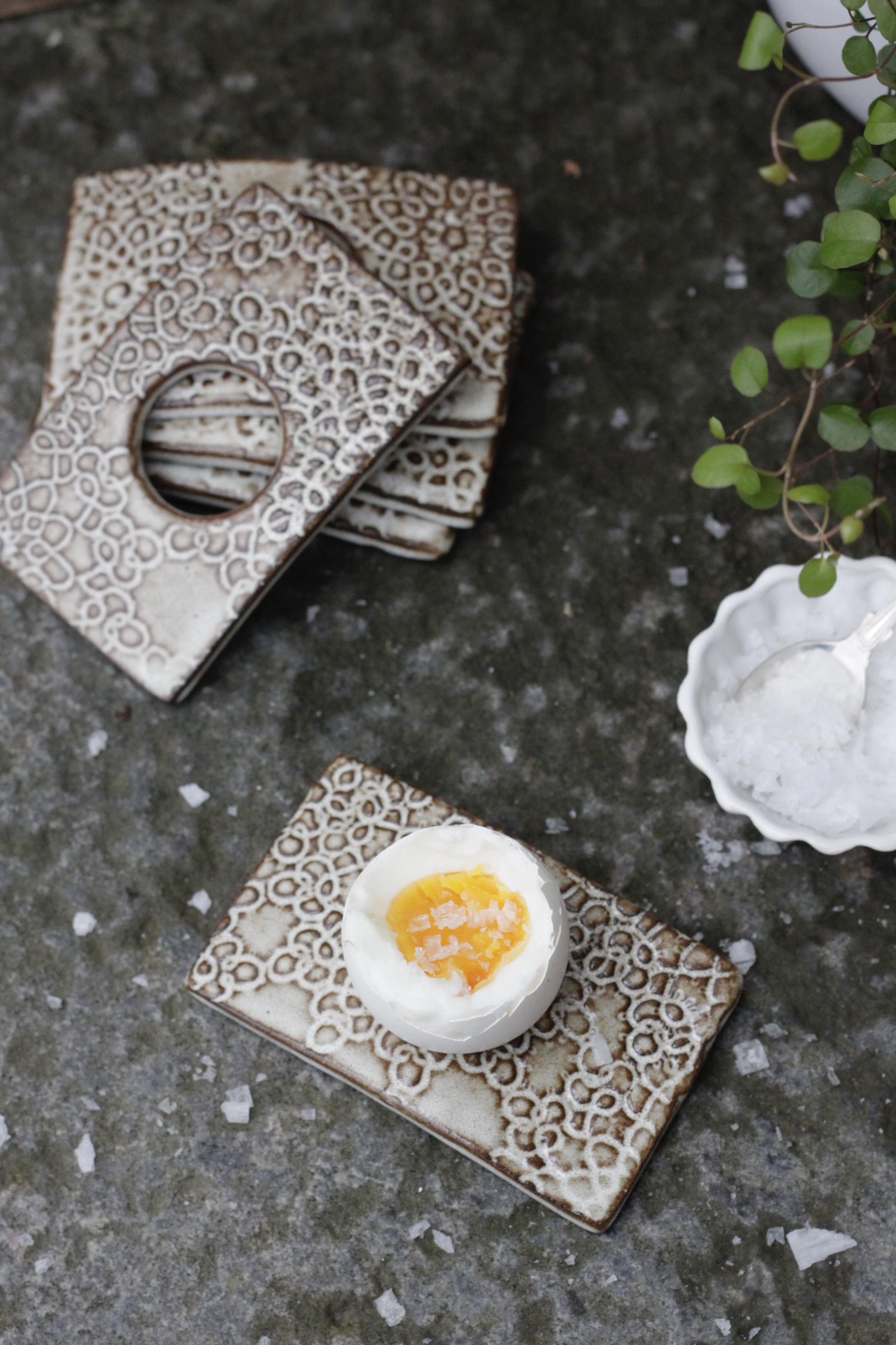 Äggkopp - mönstrad
