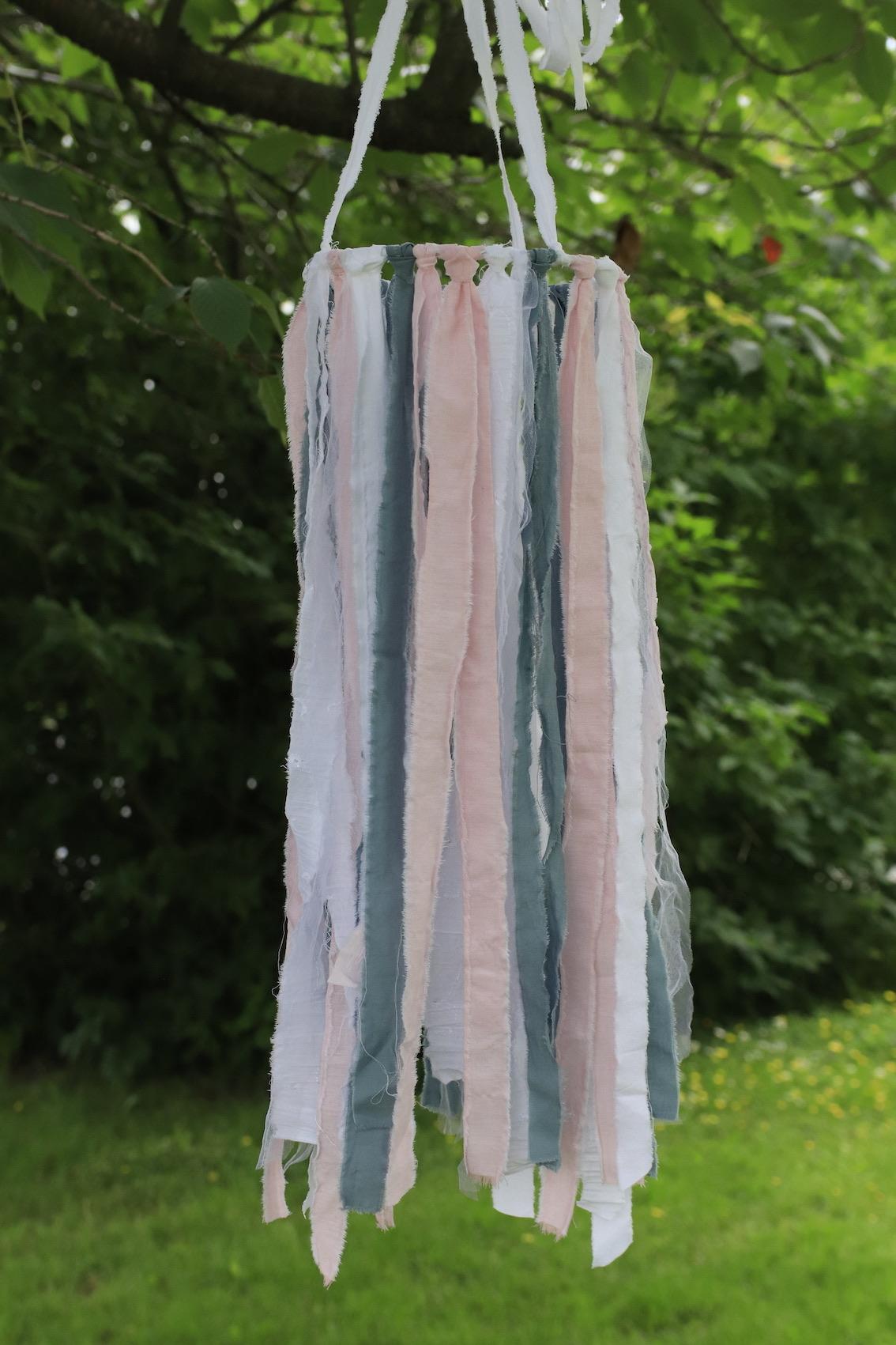 Traskrona - rosablå