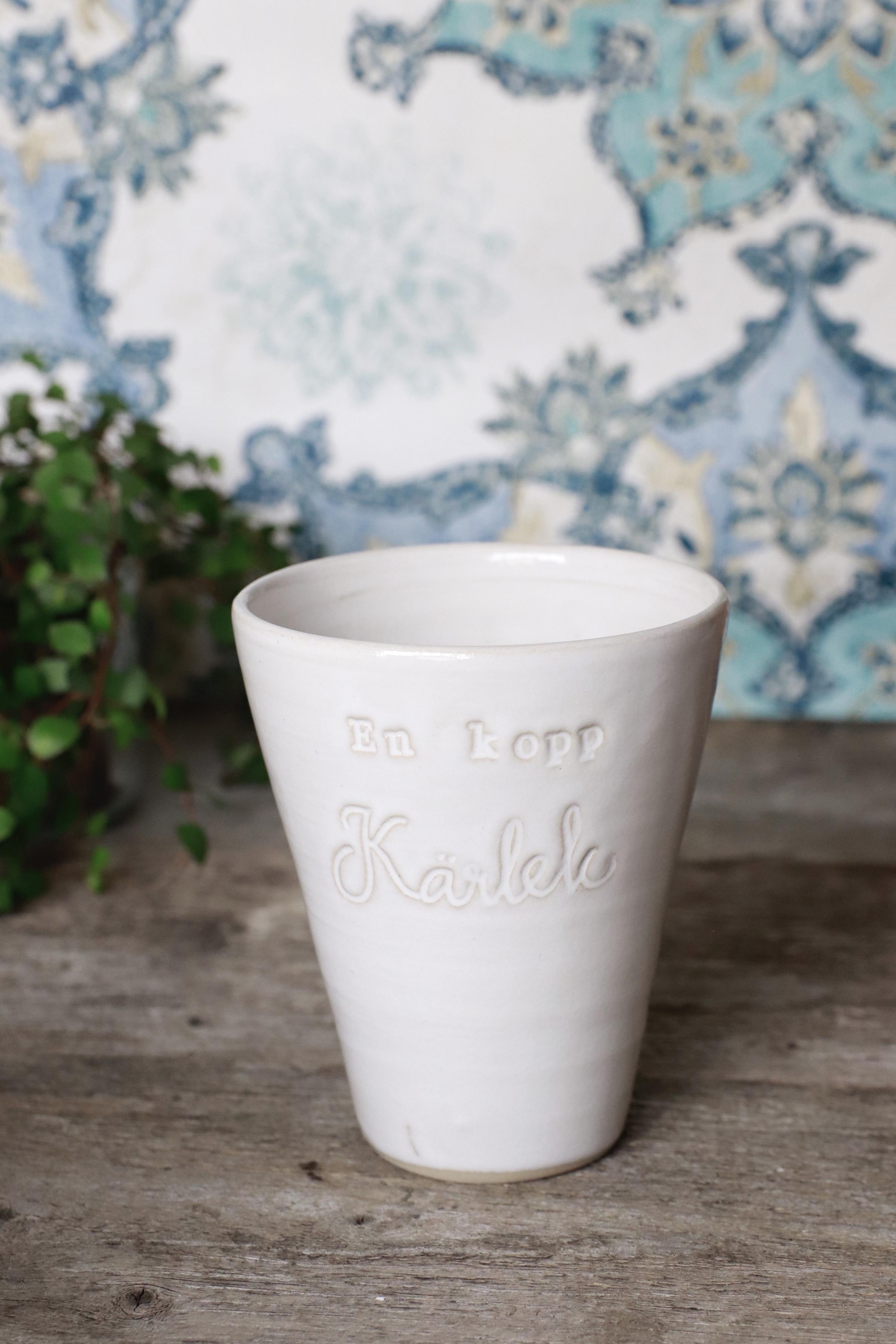 Budskapsmugg  En kopp.... (fler varianter)