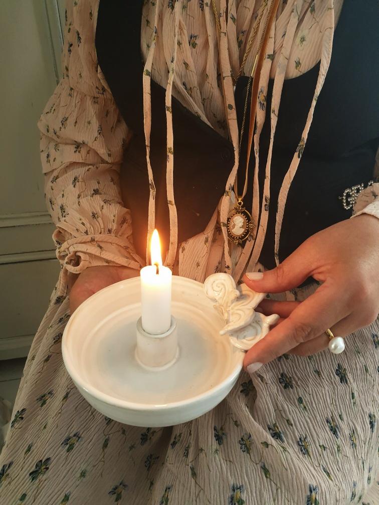 Ljusstake - Hemtrevnad av Anette Hjerpe (2:a sortering)