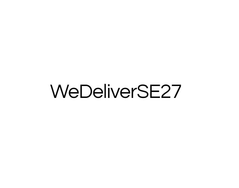 WeDeliverSE27
