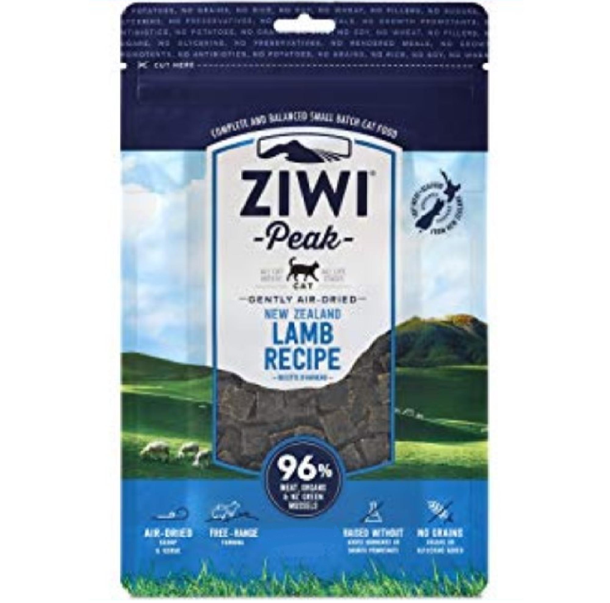 Ziwi Peak Cat Air-Dried Lamb 1kg KORT DATUM