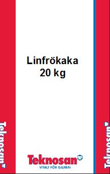 Linfrökaka Pellets 20 kg
