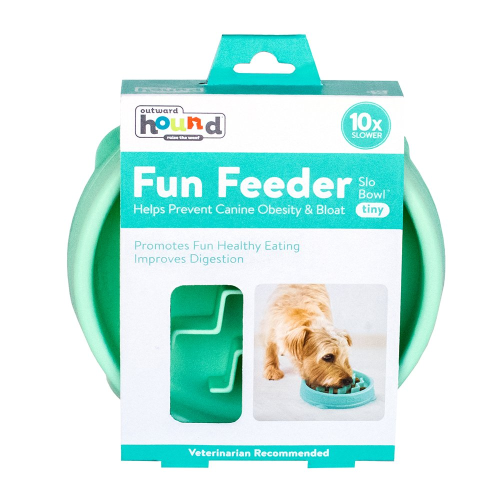 Outward Hound Fun Feeder Mint