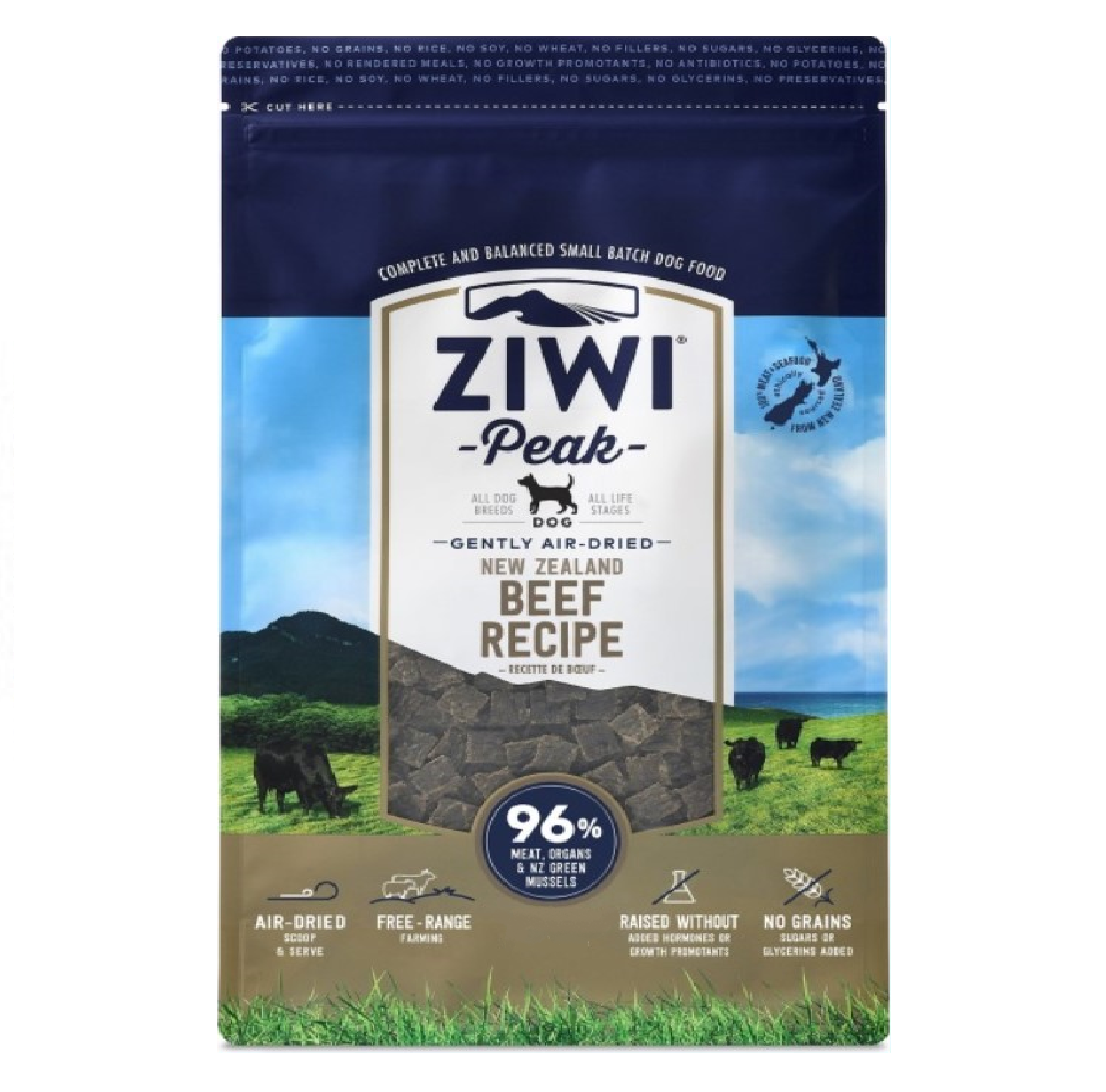 Ziwi Peak Dog Air-Dried Beef