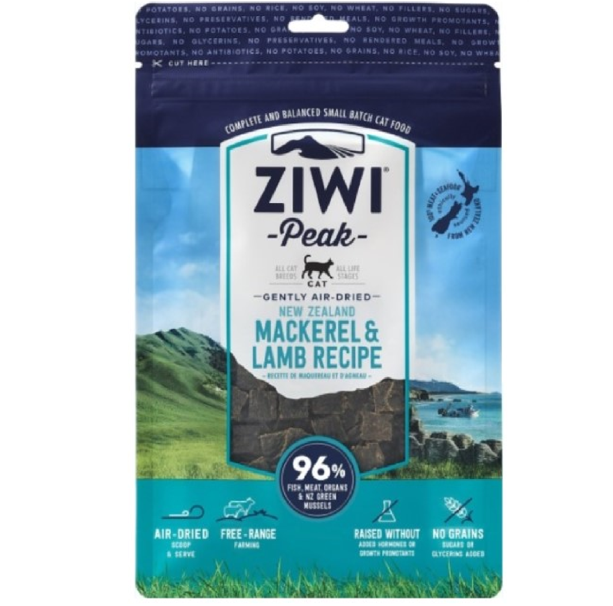 Ziwi Peak Cat Air-Dried Mackerel & Lamb