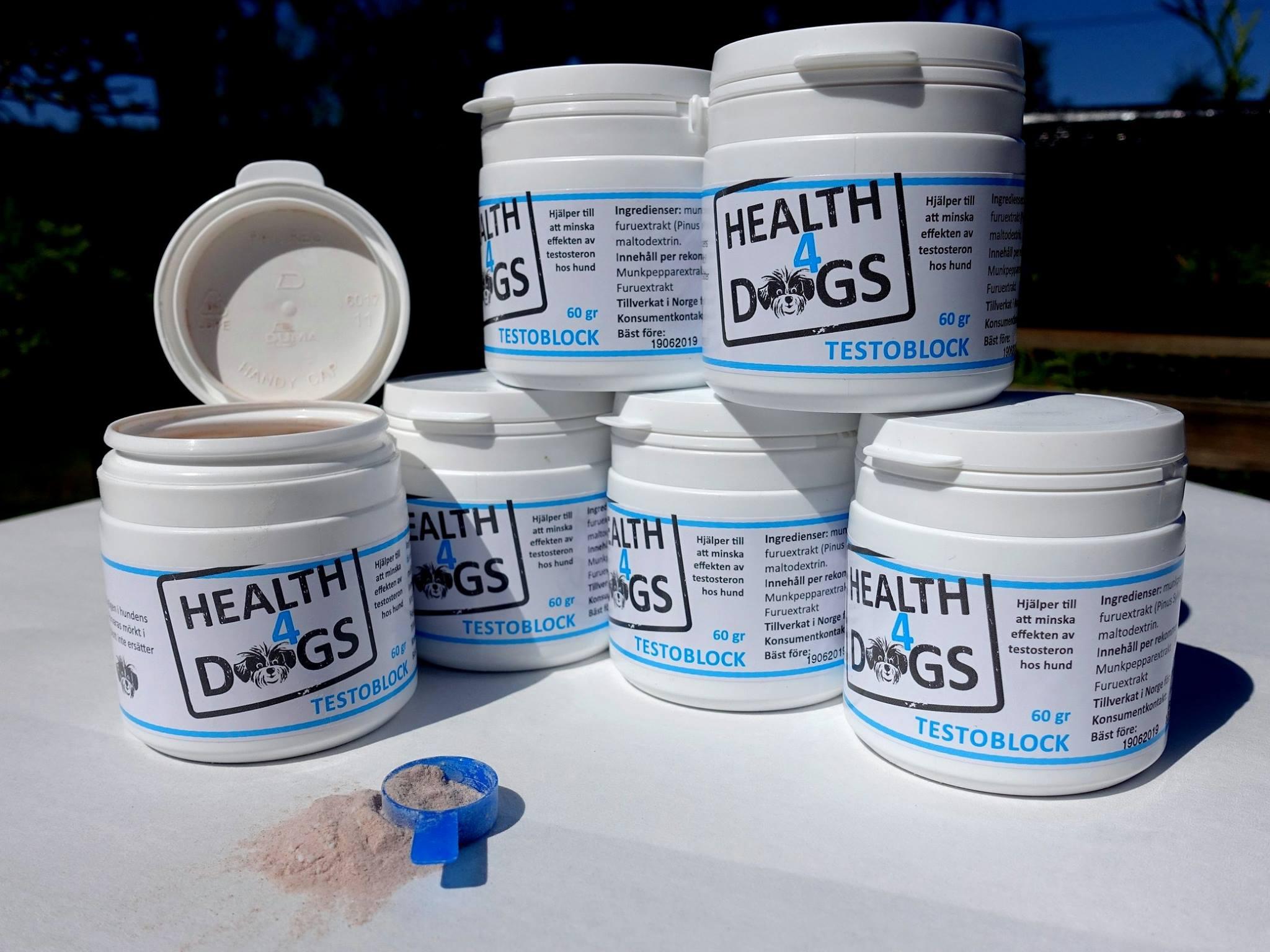 Health4dogs Testoblock