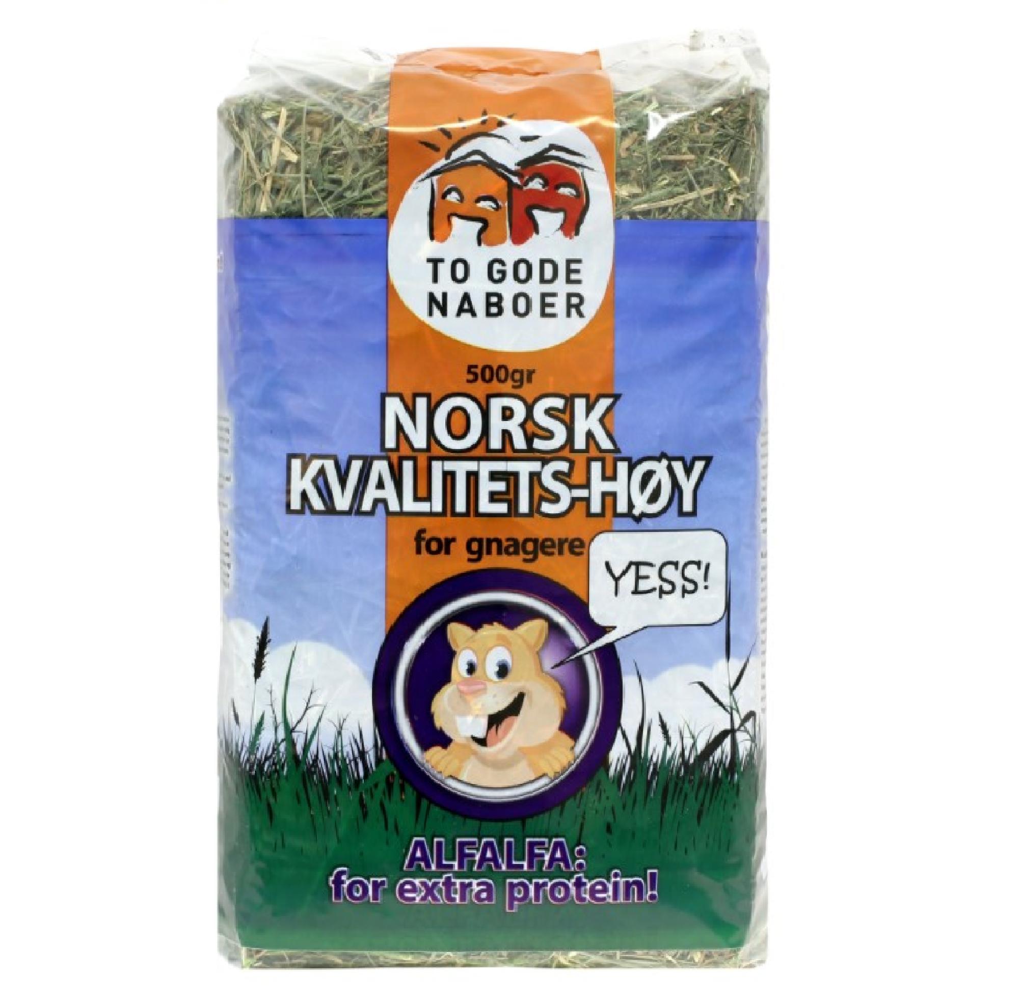 To Gode Naboer Norskt Kvalitetshö Alfalfa