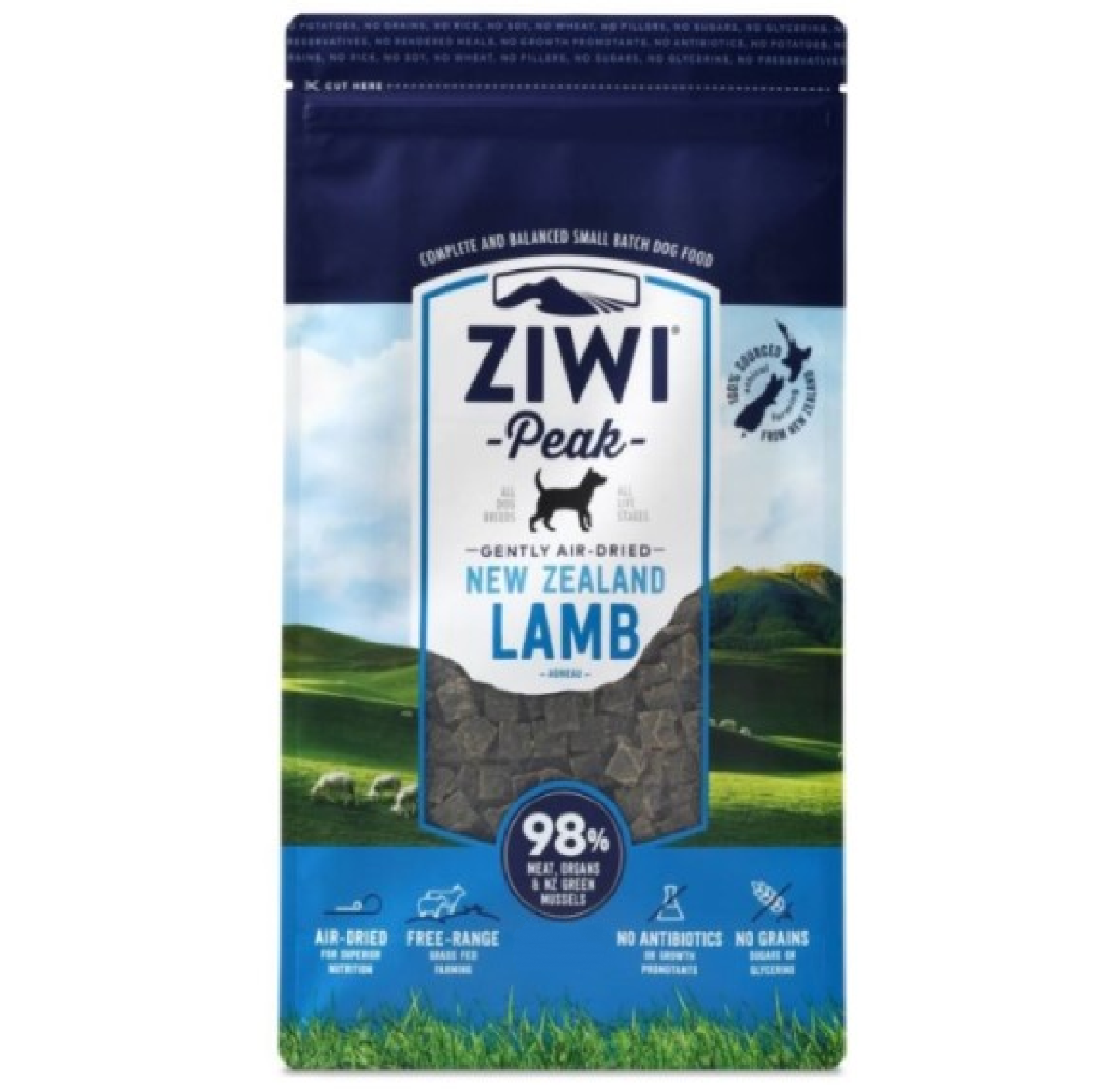 Ziwi Peak Dog Air-Dried Lamb