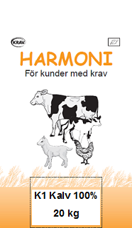 Harmoni K1 Kalv 100 % 20kg