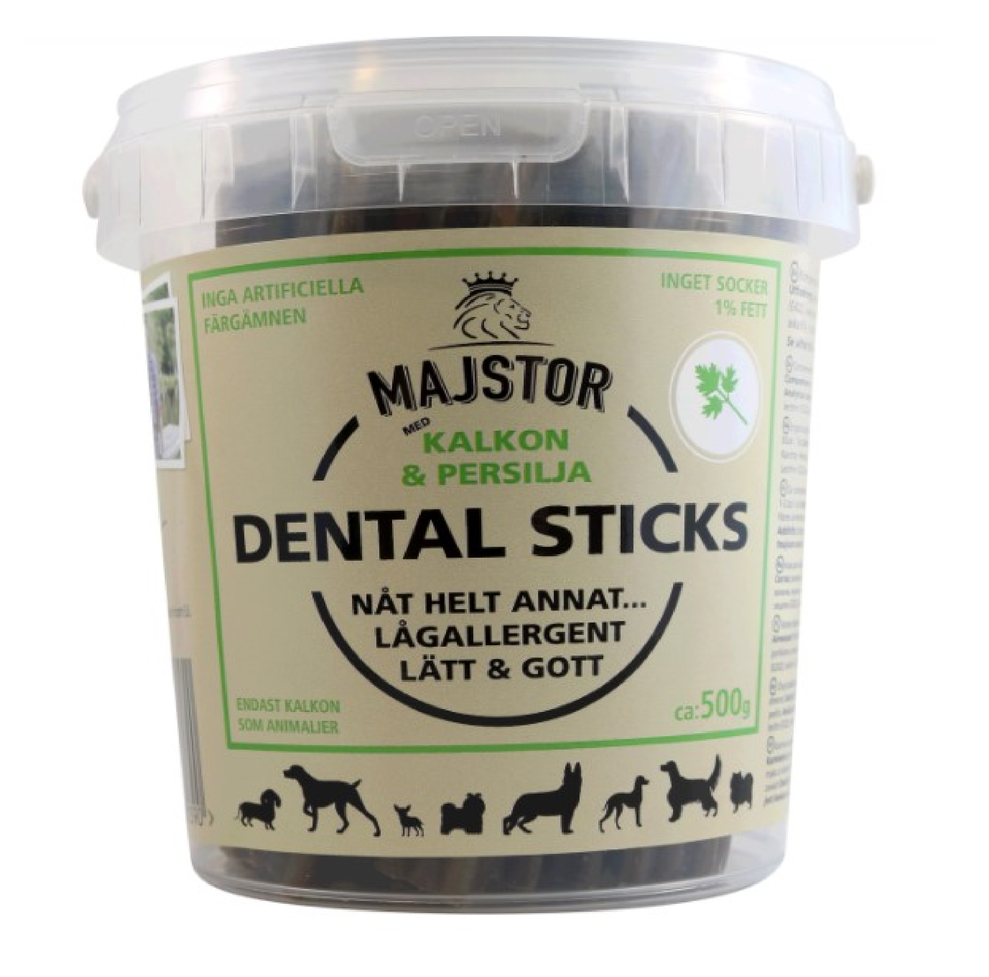 Majstor Dental Sticks Kalkon & Persilja