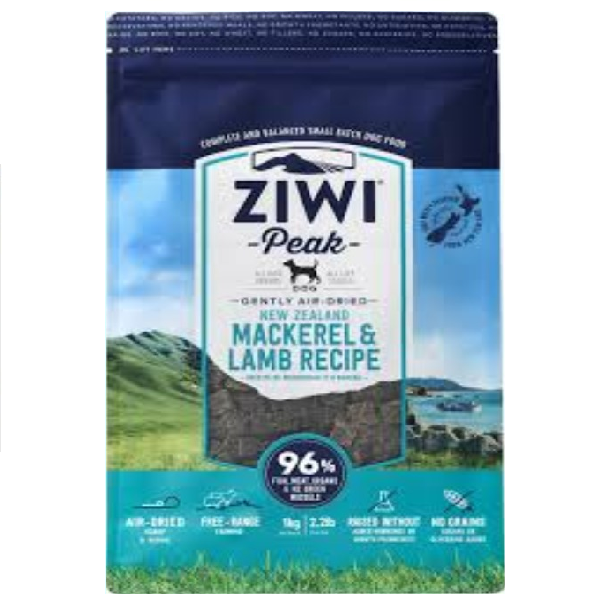 Ziwi Peak Dog Air-Dried Mackerel & Lamb