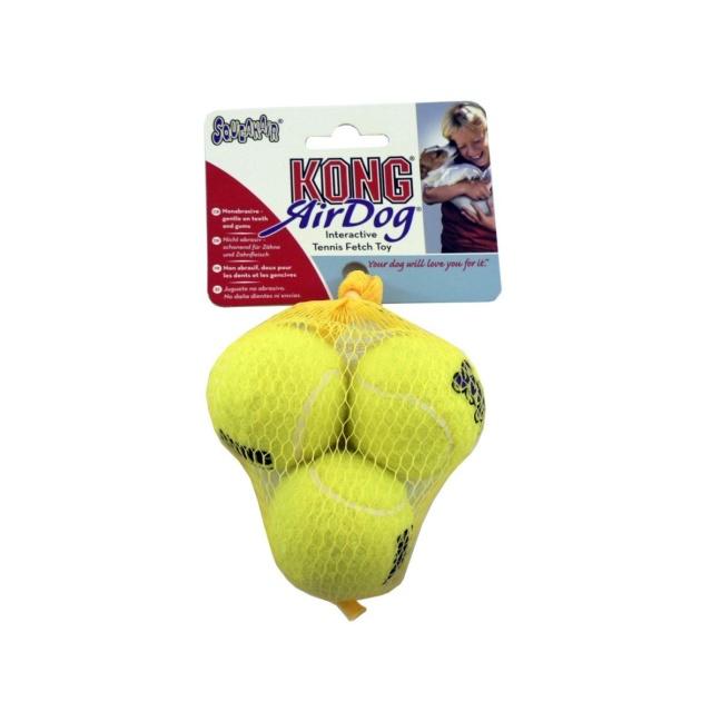 KONG AirDog Squeakair Tennisboll med pip