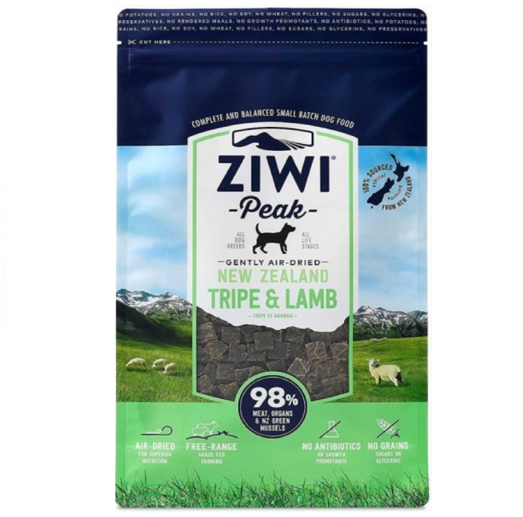 Ziwi Peak Dog Air-Dried Tripe & Lamb