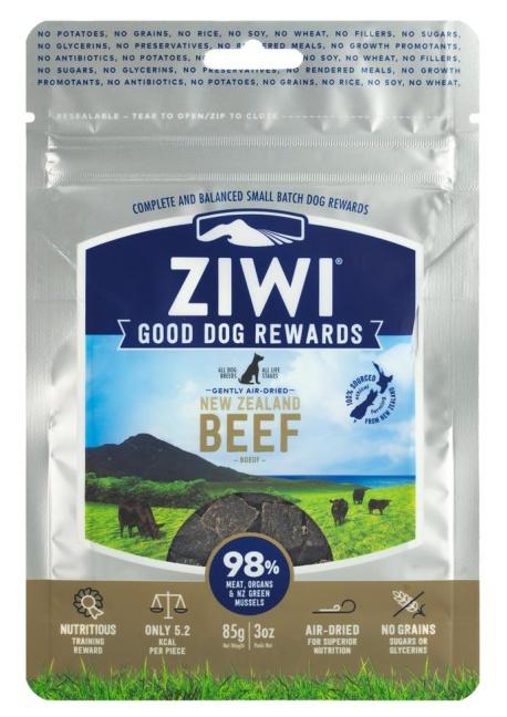 Ziwi Peak Dog Treats Beef