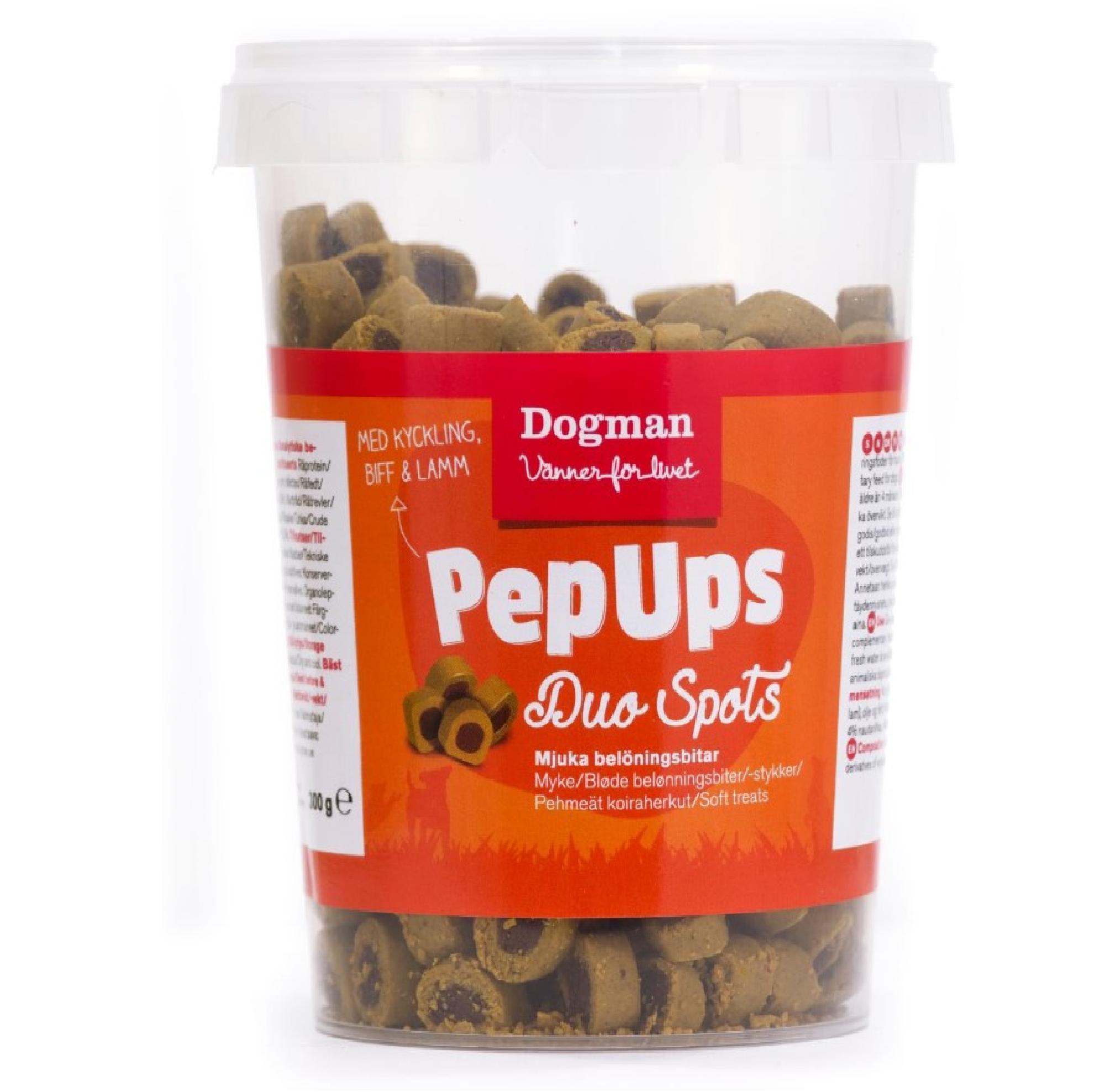 Dogman Pep Ups Duo Spots 3-smak