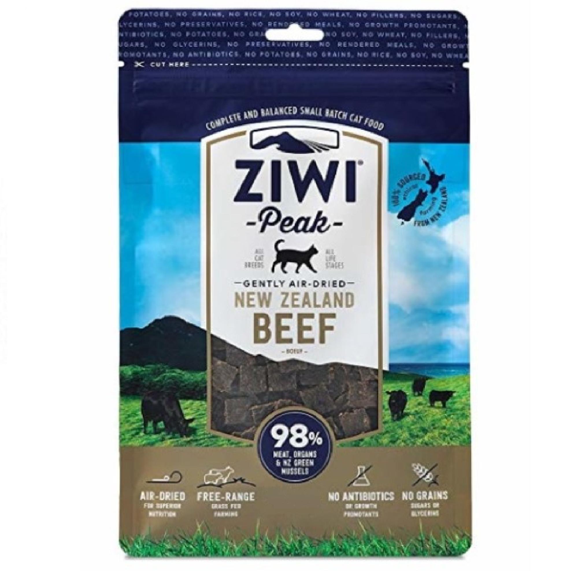 Ziwi Peak Cat Air-Dried Beef 1kg KORT DATUM