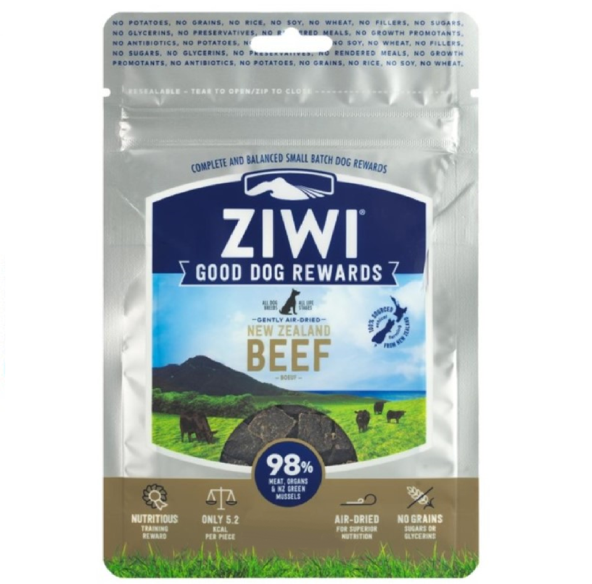 Ziwi Peak Dog Treats Beef