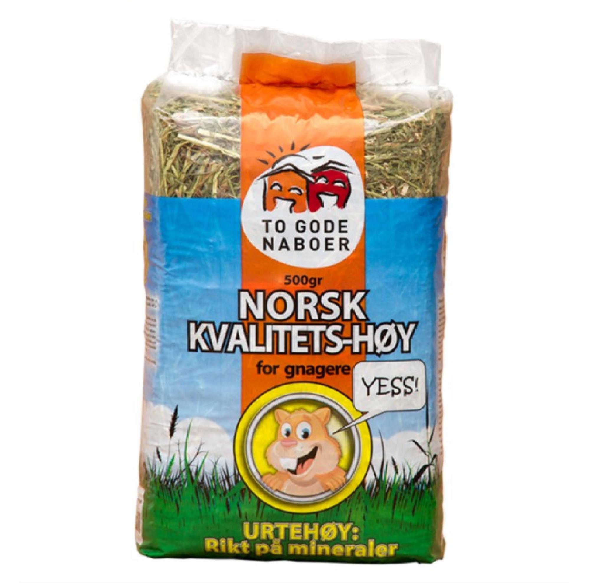 To Gode Naboer Norskt kvalitetshö Örter