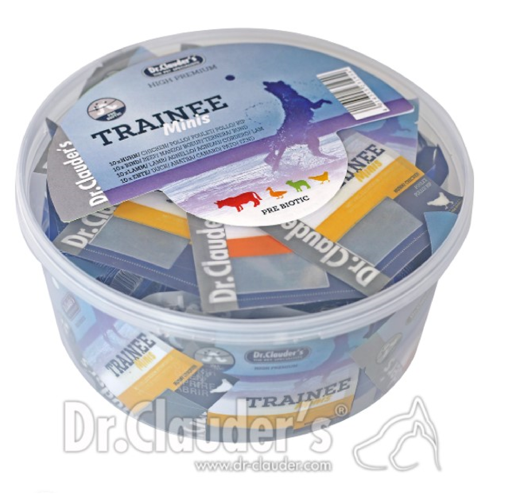 Dr Clauders Snack Mix Box