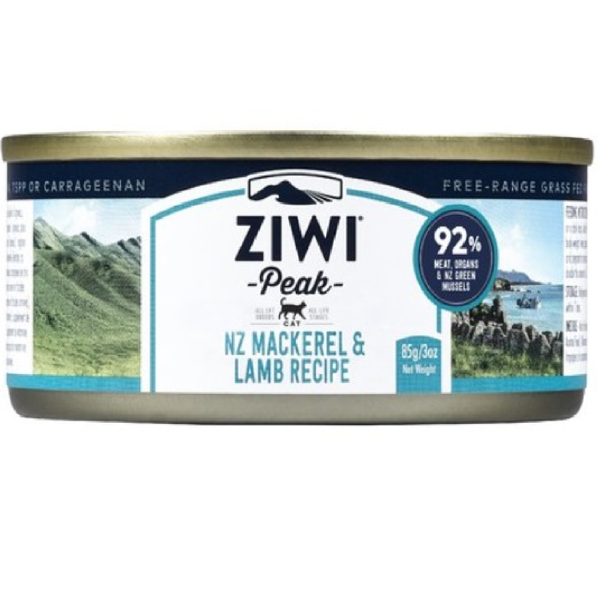 Ziwi Peak Cat Cans Mackerel & Lamb