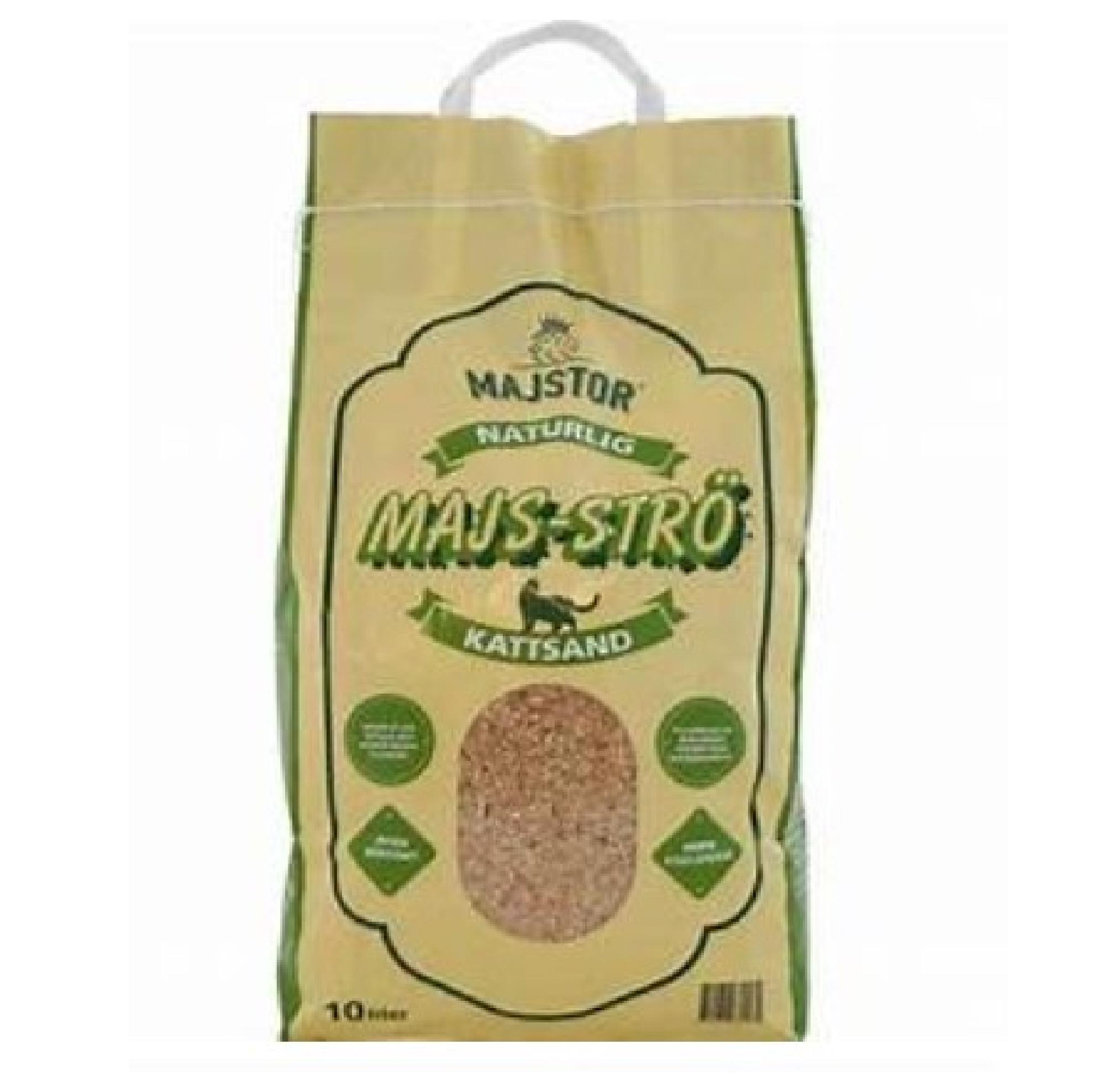 Majstor Majs-Strö Kattsand 10 liter