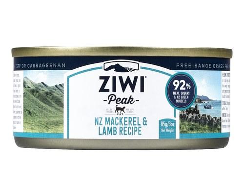 ZiwiPeak Cat Cans Mackerel&Lamb