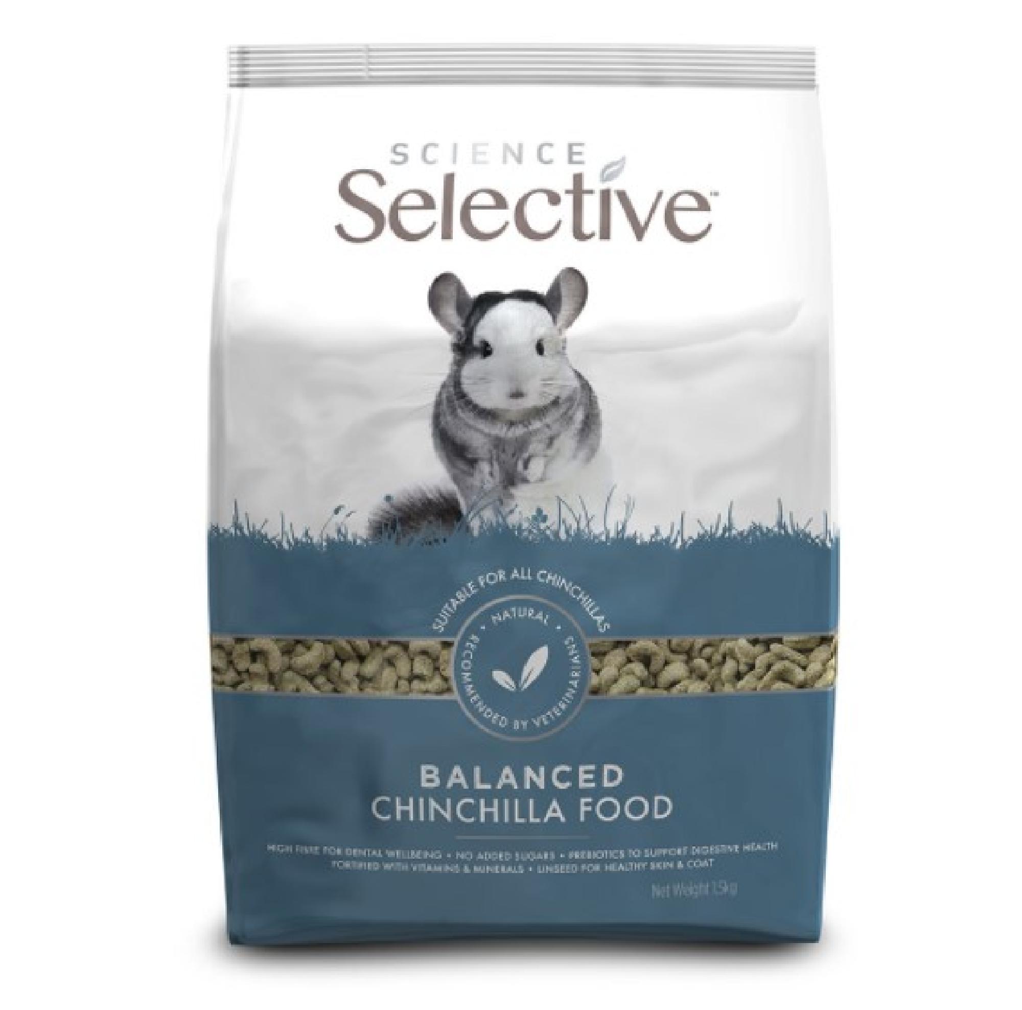 Selective Chinchilla