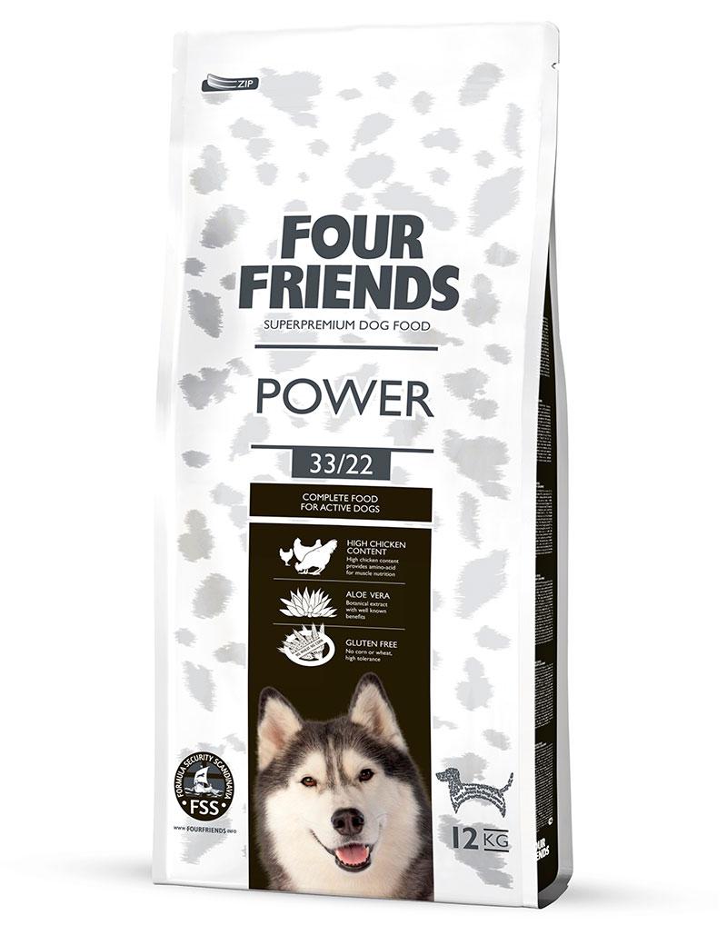 FOUR FRIENDS Power 12 kg.