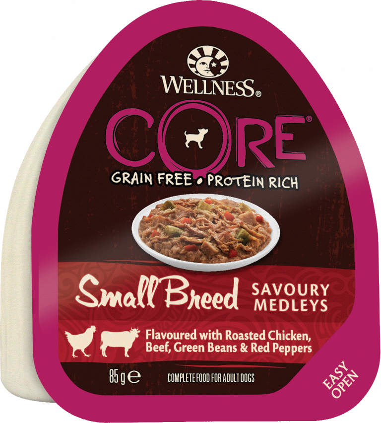 CORE Small Breed SAVOURY MEDLEYS Chicken, Beef, Green Beans & Red Pepper 12-pack