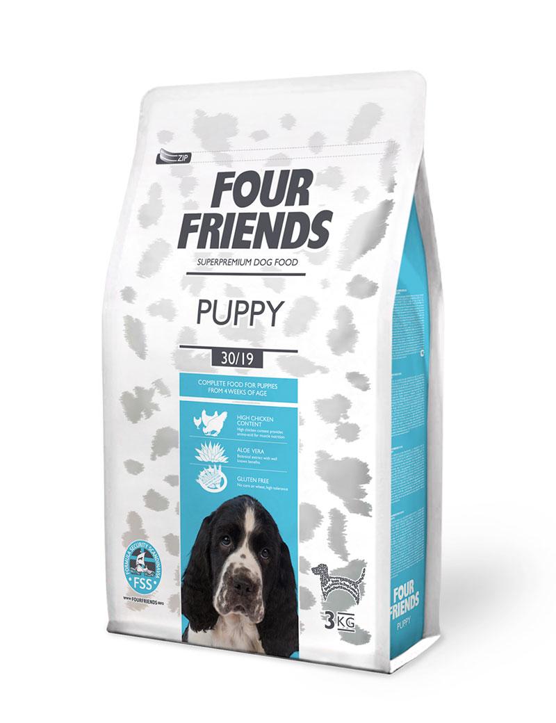 FOUR FRIENDS HUND Puppy 3kg