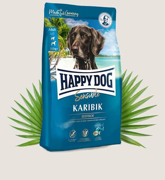 HAPPY DOG Supreme Sensible Karibik 4kg.