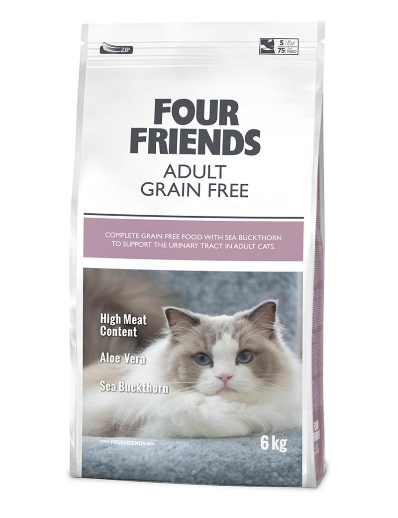 FOUR FRIENDS Adult Grain-free 6 kg.