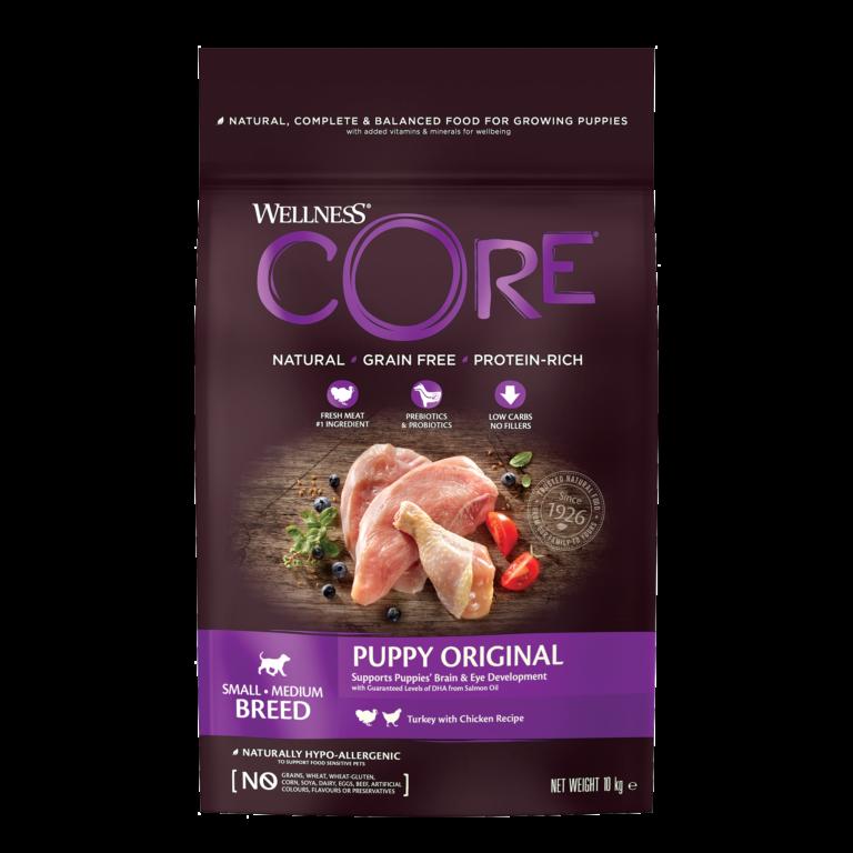 CORE Original Puppy Small/Medium Breed Chicken/Turkey 12 kg.