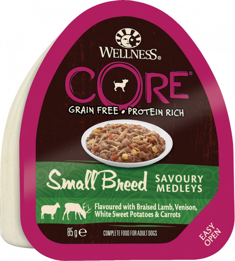 CORE Small Breed SAVOURY MEDLEYS Lamb, Venison, White Sweet Potatoes & Carrots 12-pack