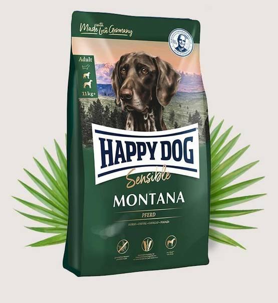 HAPPY DOG Supreme Sensible Montana 10kg.