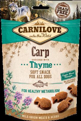 CARNILOVE Semi-Moist Carp with Thyme 200 gr.