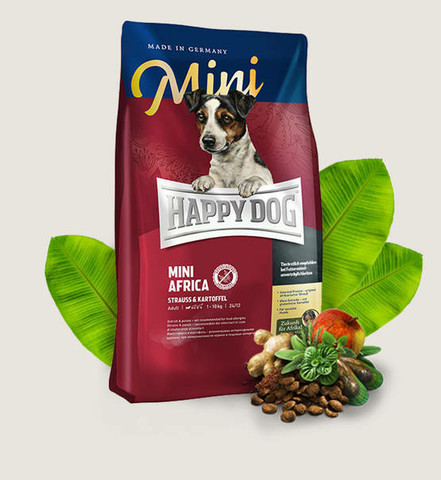 HAPPY DOG Supreme Sensible Mini Africa 4kg.