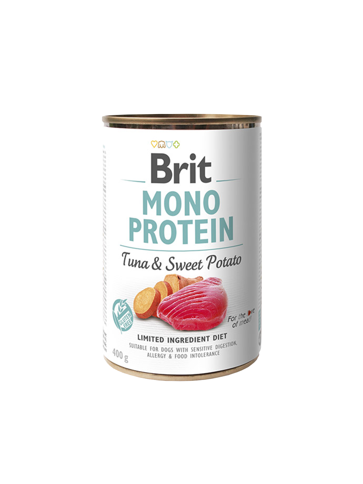 Brit Mono Protein Tuna  & Sweet Potato 6 x 400gr.