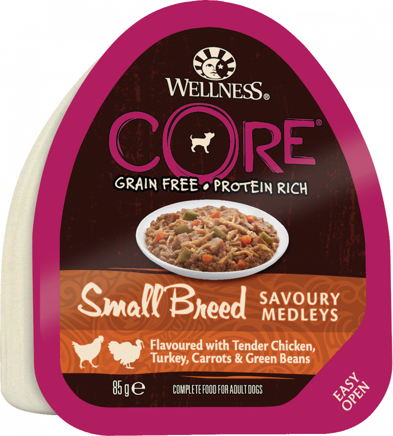 CORE Small Breed SAVOURY MEDLEYS Tender Chicken, Turkey, Carrots & Green Beans 12-pack