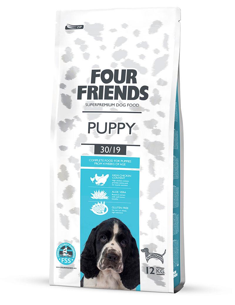 FOUR FRIENDS HUND Puppy 12 kg.