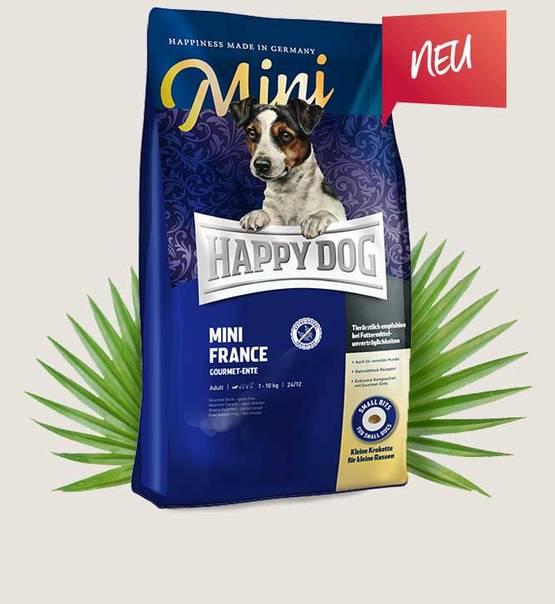 HAPPY DOG Supreme Sensible Mini France 4kg.