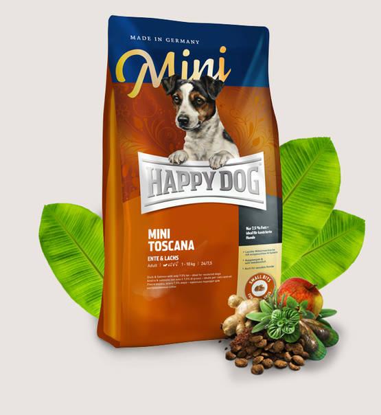 HAPPY DOG Supreme Sensible Mini Toscana 4kg