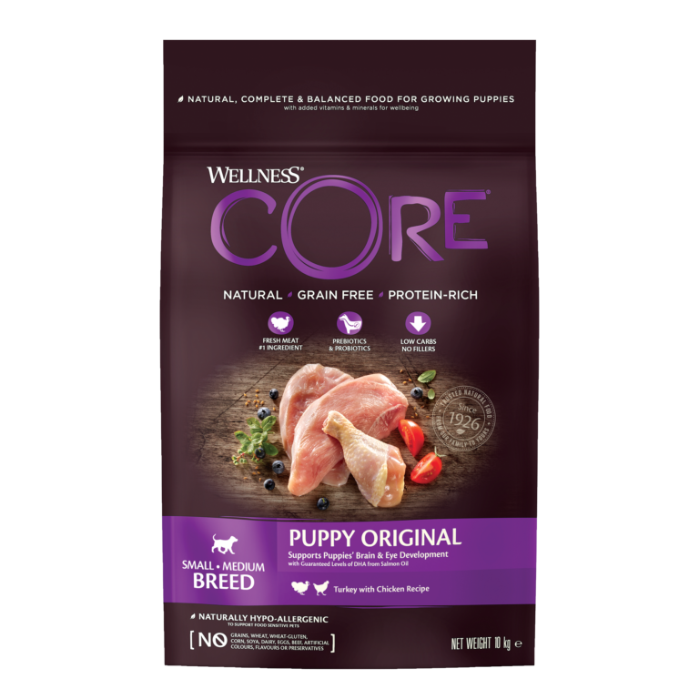 CORE Original Puppy Small/Medium Breed Chicken/Turkey 16 kg.