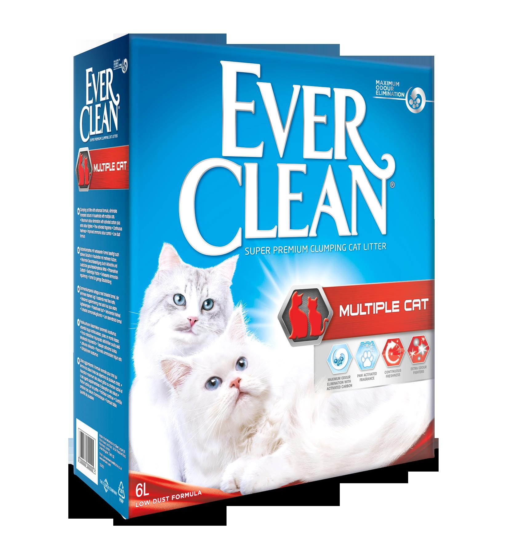 EVER CLEAN Multiplecat 6L