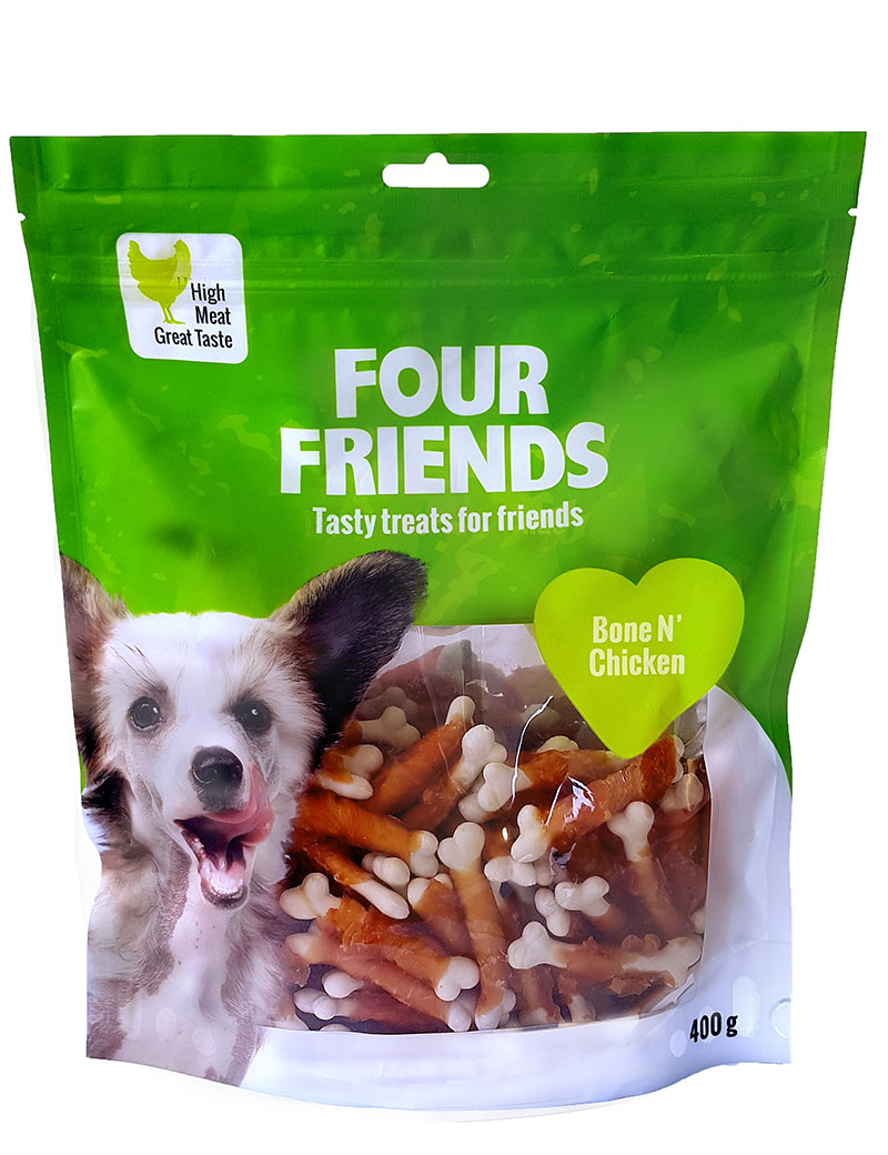 FOUR FRIENDS Bone N' Chicken 400 gr.