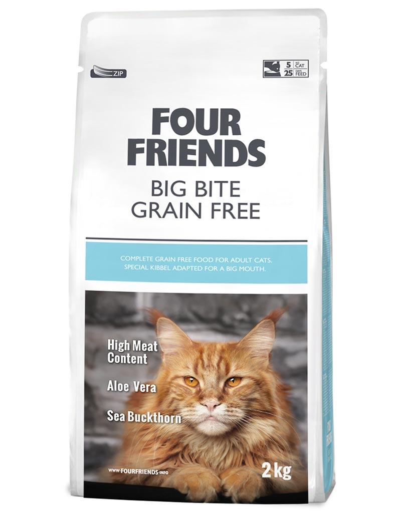 FOUR FRIENDS Grain-free Big Bite 2 kg.
